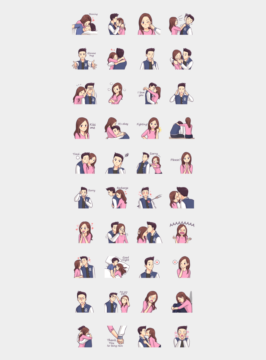 two people in love clipart, Cartoons - This Is The Story Of Love Between Two People, You And - Grumpy Cat Emoji