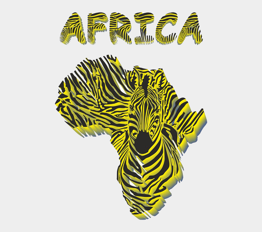 map of africa clipart, Cartoons - Africa Zebra Illustration African Map Transprent Png - Map Of Africa Clipart
