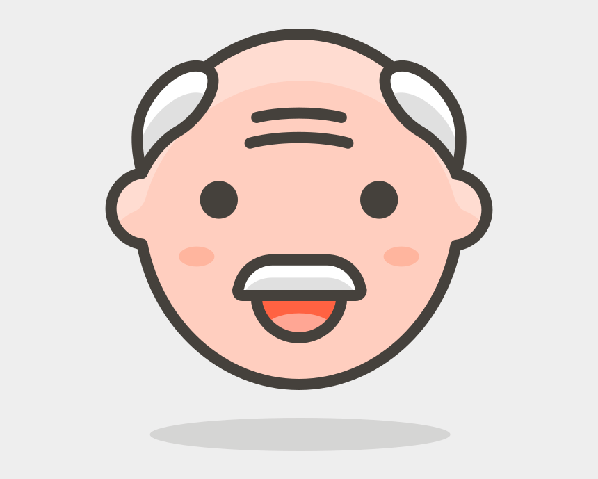 old man face clipart, Cartoons - 122 Old Man - Old Man Face Png Graphic
