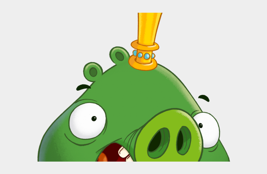 jubilant clipart, Cartoons - Hard Rock Clipart Angry - Angry Birds 2 Chef Pig Foreman Pig King Pig