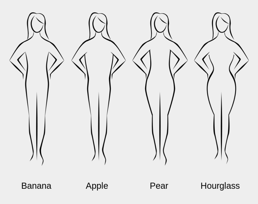 human body clipart black and white, Cartoons - T Drawing Human Figure - Body Shapes
