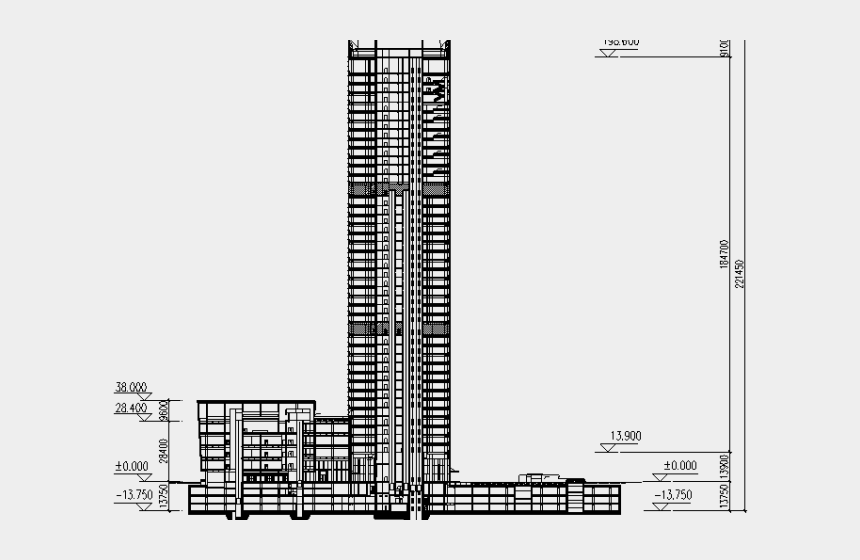 high rise building clipart, Cartoons - Clipart Of The Day - High Rise Building Section