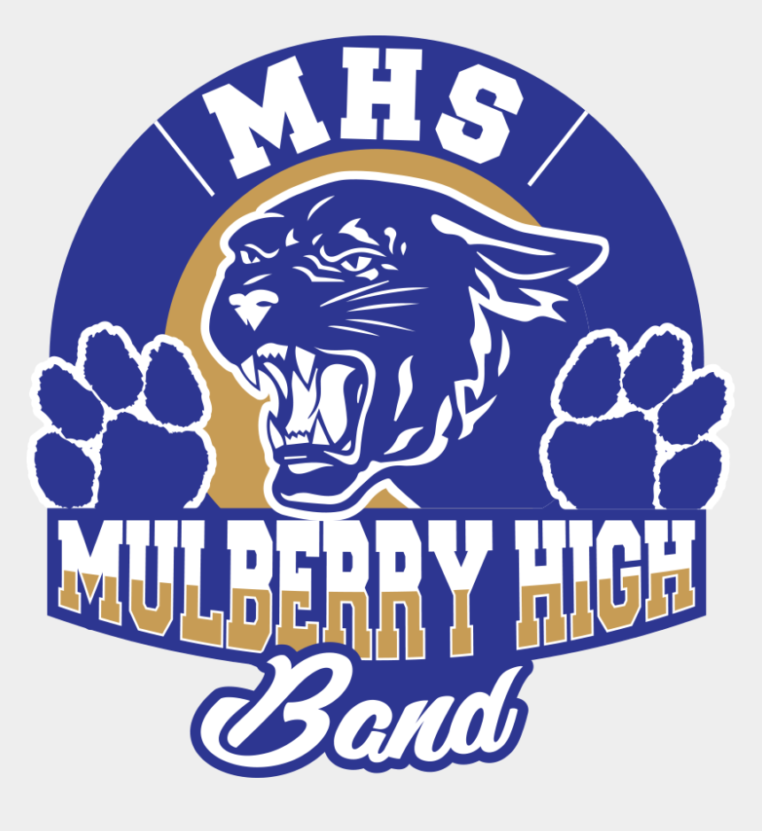 high school band clipart, Cartoons - Community Support Is Very Important To The Mulberry - Mulberry High School Logo
