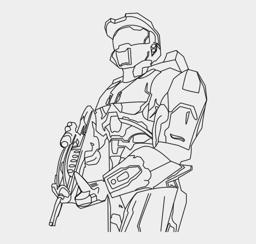 Halo Master Chief Coloring Pages Halo Coloring Pages Cliparts Cartoons Jing Fm
