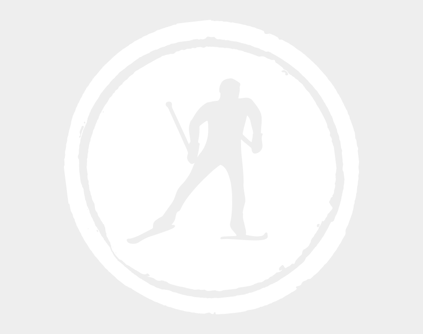 cross country shoe clipart, Cartoons - M - Cross Country Skiing Logo
