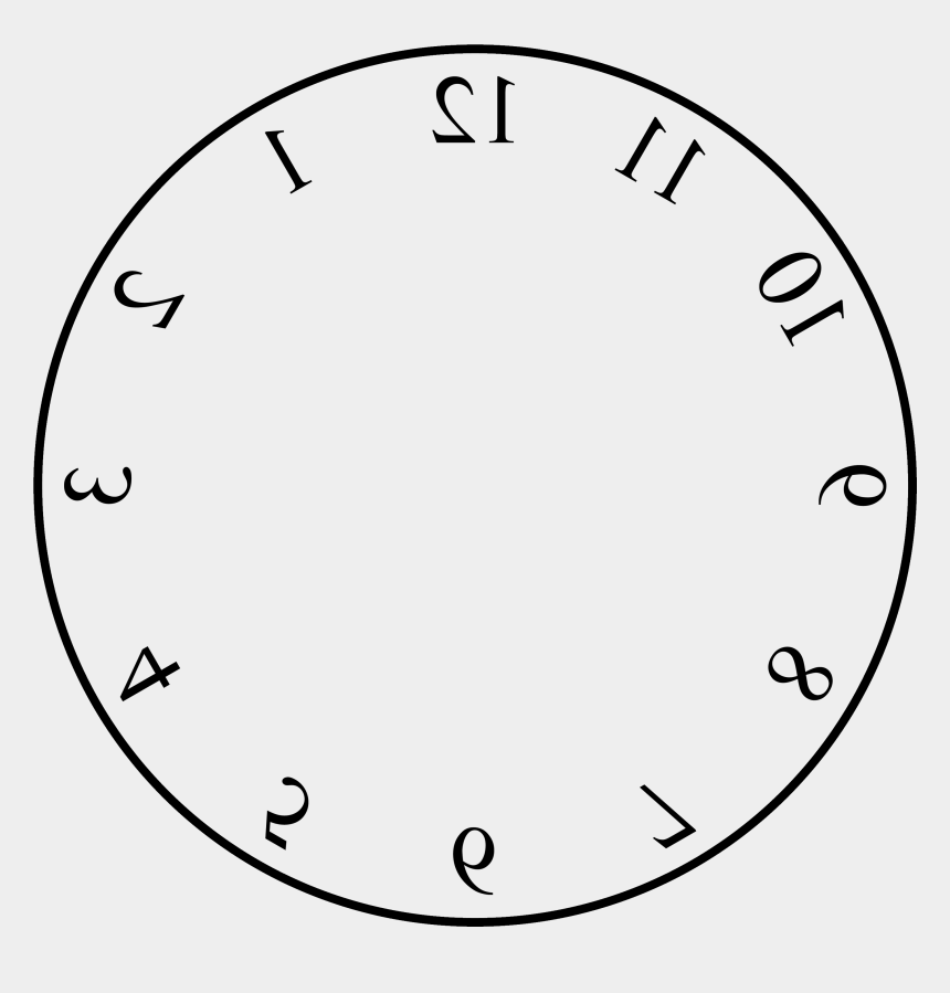picture about Blank Clock Face Printable called Clipart Of Template, Dial And Clock With - Blank Clock Faces