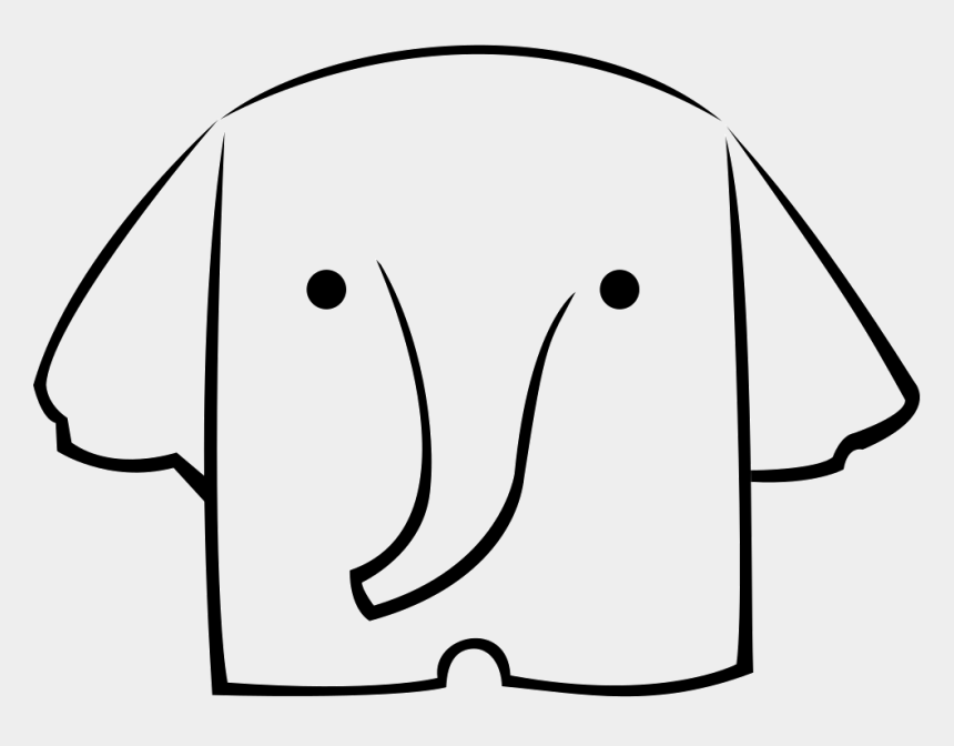 white elephant gift clipart, Cartoons - Elephant Street Logo Comments Clipart , Png Download