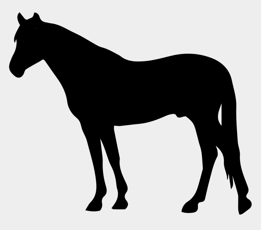 cowboy and horse clipart, Cartoons - Cowboy Svg Horse Png - Horse Side View Silhouette