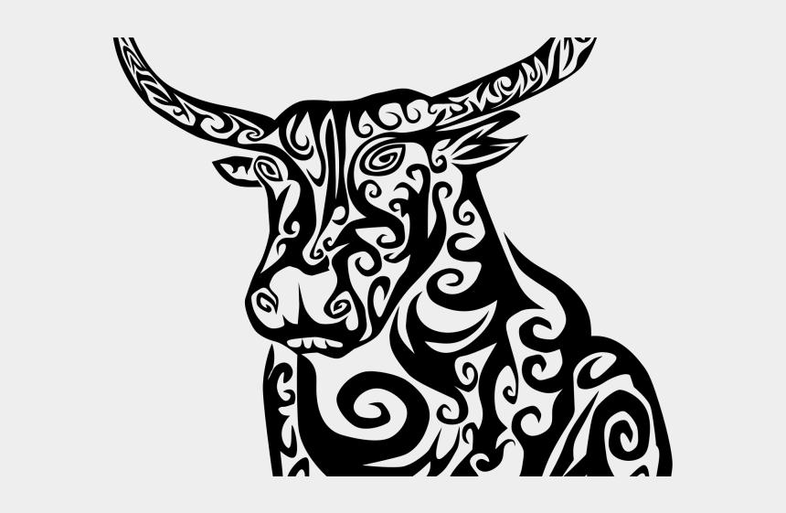 cognitive development clipart, Cartoons - Tribal Clipart Bull - Tribal Bull Tattoo Designs