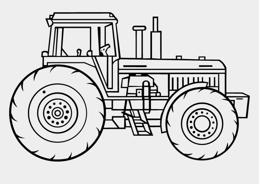 lawn tractor clipart, Cartoons - Drawing Tractors - - Tractor Drawing