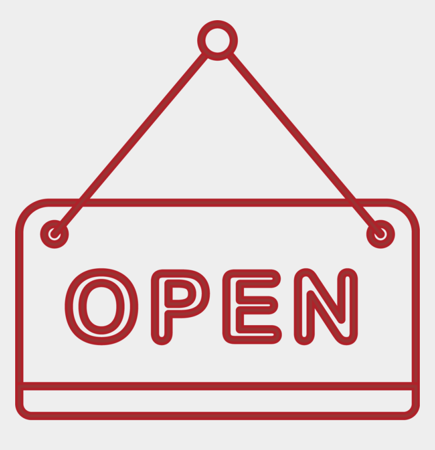 open for business clipart, Cartoons - Open For Business Png - Open For Business Sign Clipart Transparent