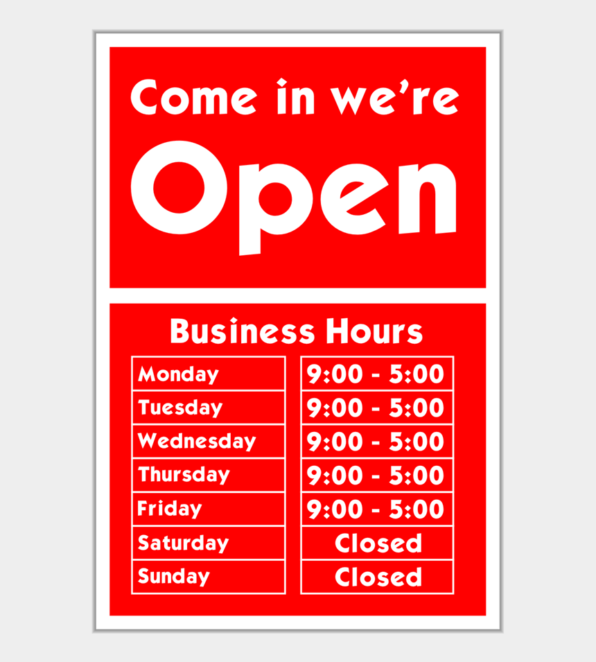 open for business clipart, Cartoons - Come In We're Open - Come In We Re Open