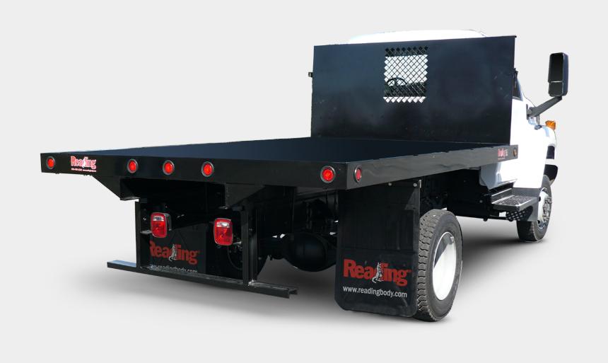 dump truck dumping clipart, Cartoons - Platform Body - Platform Truck Body