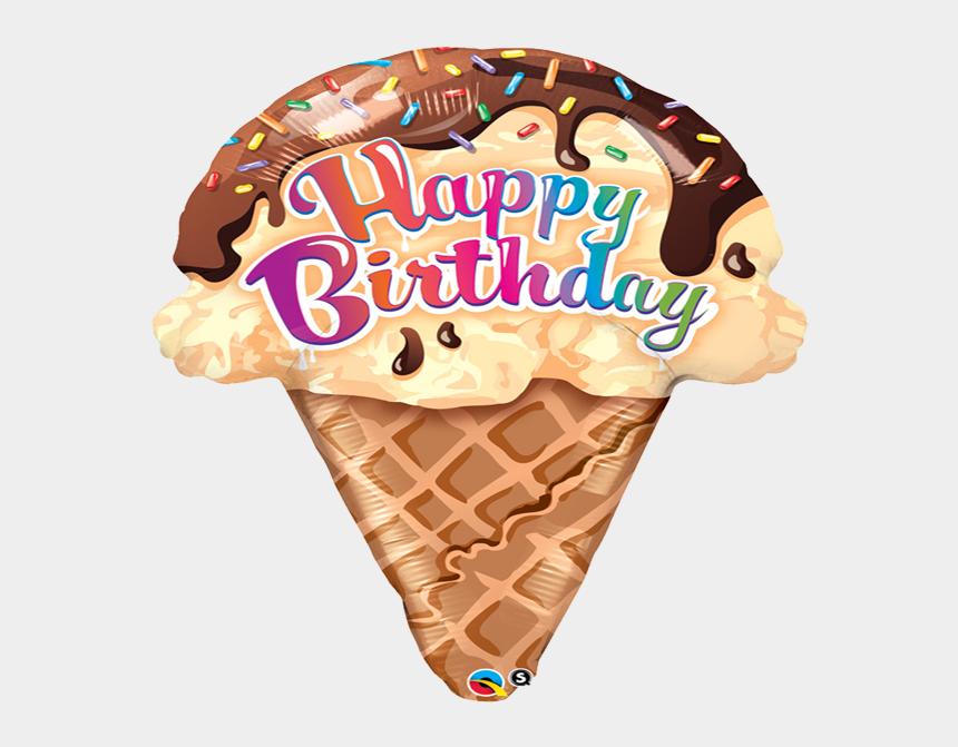 ice cream party clipart, Cartoons - Zoom - Birthday Ice Cream Cone