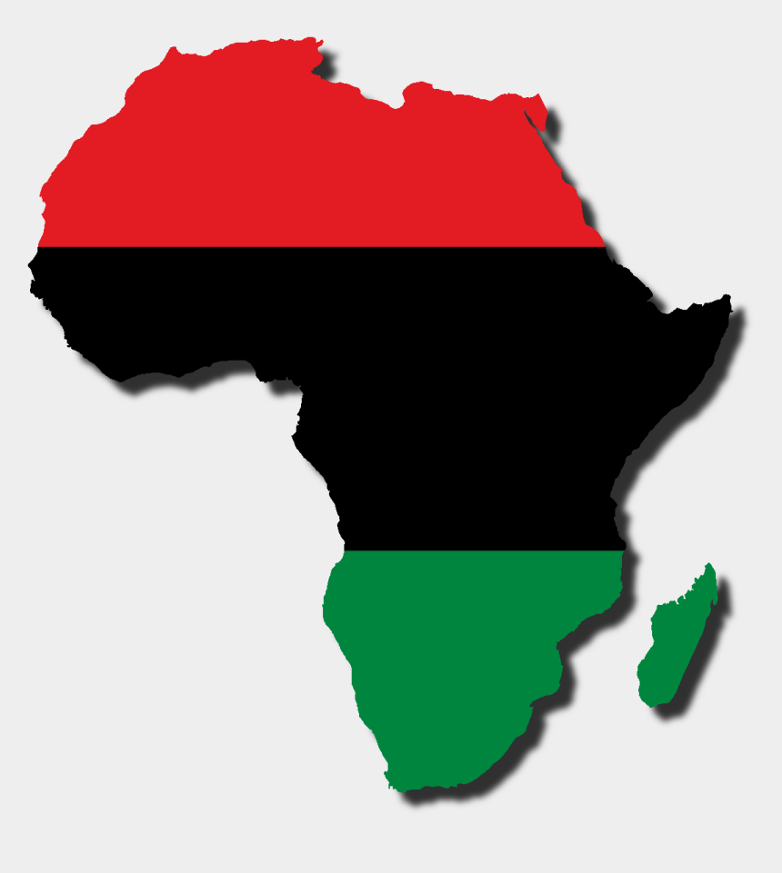 cradle clipart, Cartoons - Africa Clipart Flag - Africa With Pan African Colors