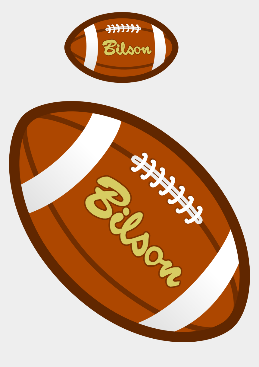 rugby balls clipart, Cartoons - Clipart Rugby Ball - Kick American Football