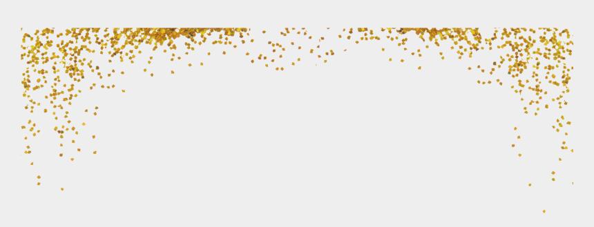 gold glitter clipart, Cartoons - Best Confetti Background On Hipwallpaper X - Transparent Gold Sparkles Png