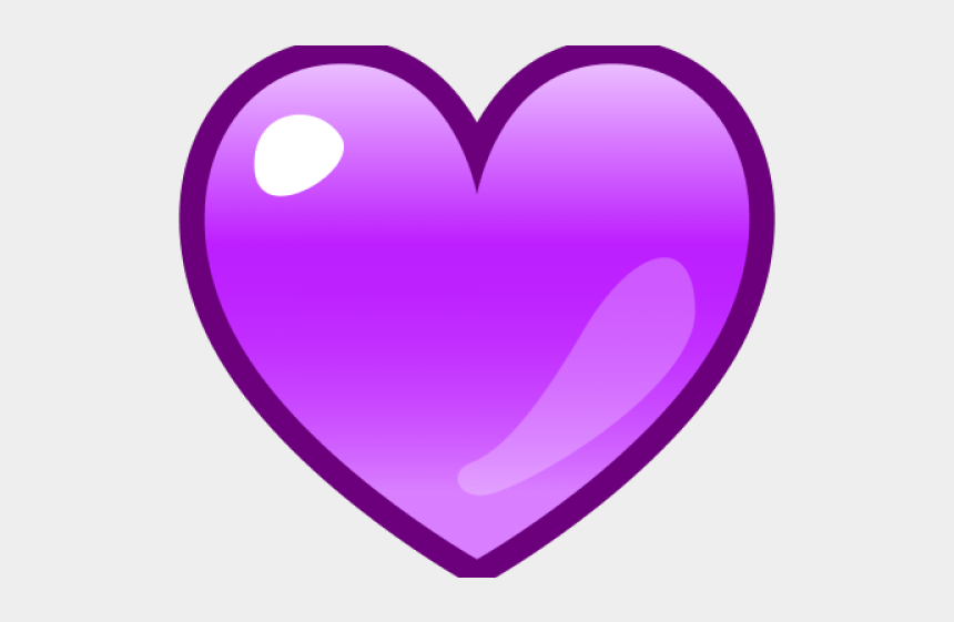 purple heart medal clipart, Cartoons - Purple Heart - Purple Love Heart Emoji