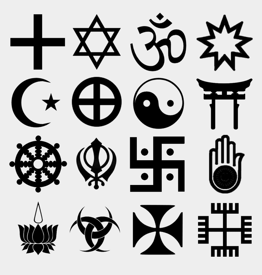 religious symbol clipart, Cartoons - Religion Symbol Png - Central Sikh Gurdwara Board