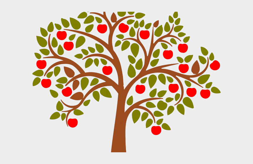 onomatopoeia clipart, Cartoons - Clipart Of The Day - Tree With Fruits Png