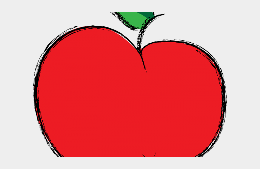 bichon frise clipart, Cartoons - Colours Clipart Fruit - Clipart Cute Apple Png