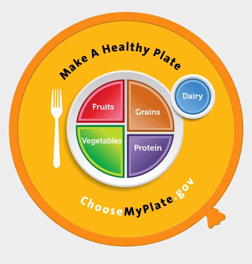 my plate clipart, Cartoons - Myplate Wall Decals - Choose My Plate