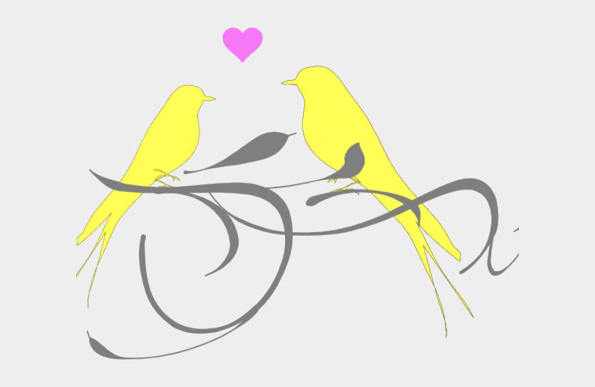 cute birds clipart, Cartoons - Wedding Bird Clipart