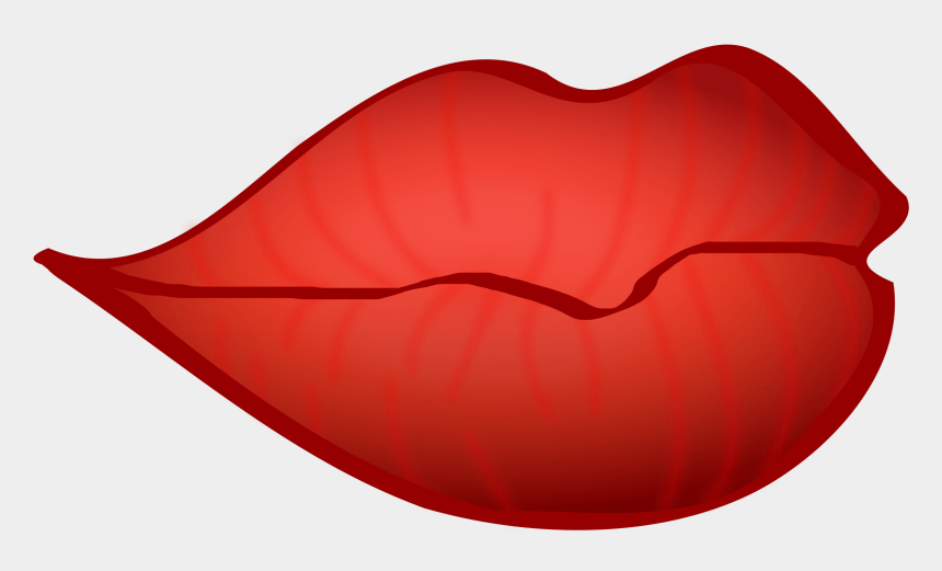 big red clipart, Cartoons - Red Lips Clipart - Lips Clipart No Background