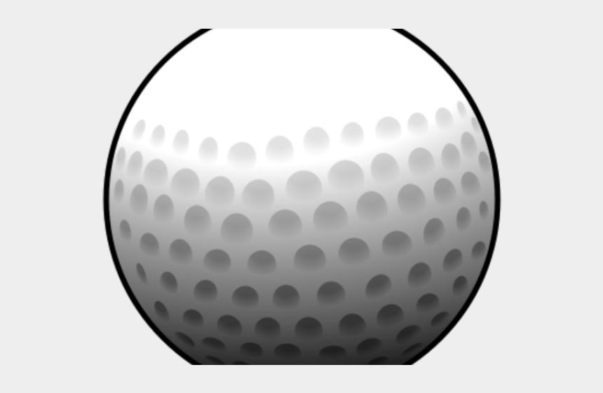 crossed golf clubs clipart, Cartoons - Mini Golf Clipart Ball - Golf Ball Cartoon Png