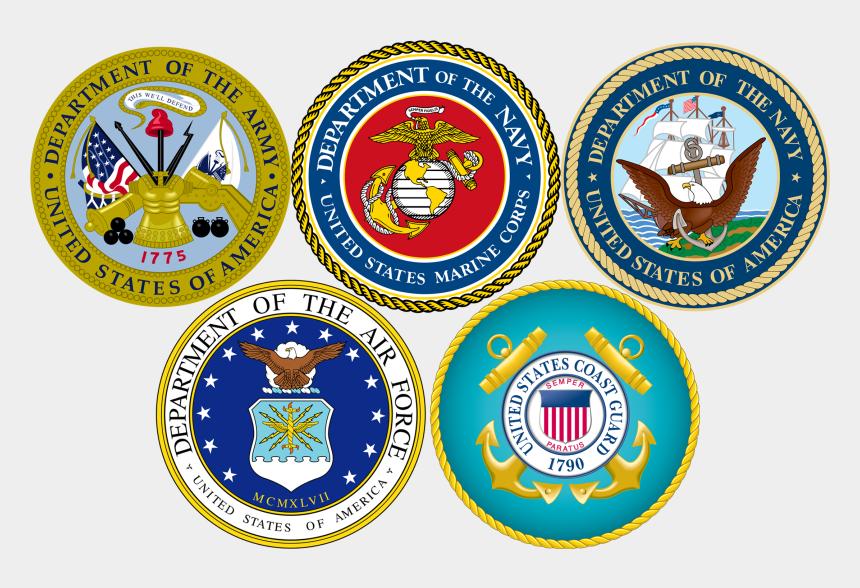 military emblems clipart free, Cartoons - Spokane Veteran's Forum - Military Branch Logos