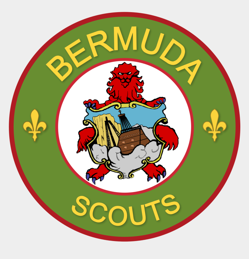 boy scout emblem clipart, Cartoons - Bermuda Scout Association - Coat Of Arms Of Bermuda