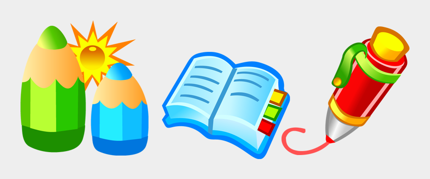 book and pen clipart, Cartoons - Free Vector Free Vector Pen & Book - Books And Pens Cartoon
