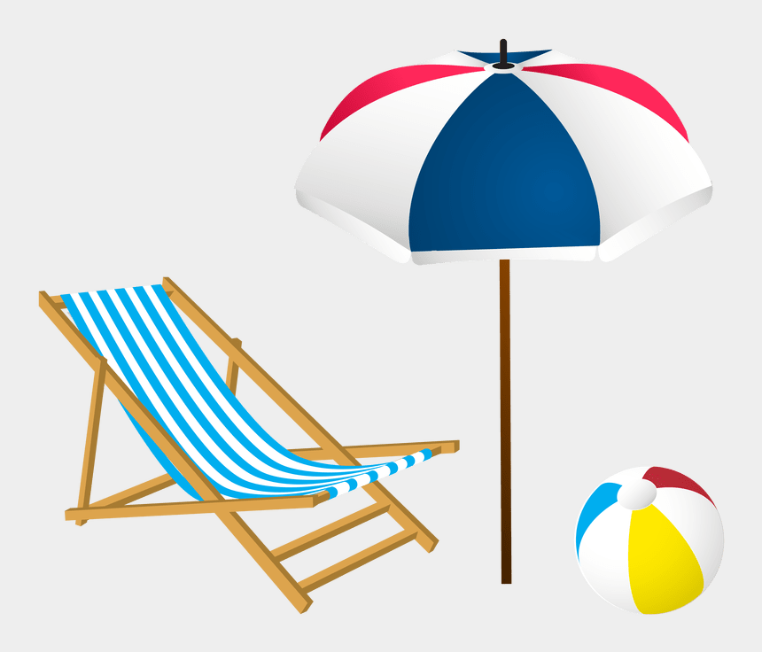 summer beach clipart black and white, Cartoons - Vacation Clipart Umbrella Summer - Summer Clip Art Png