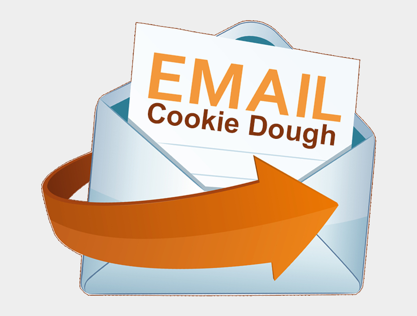 e-mail clipart, Cartoons - Cookie Dough Will Be Issued Electronically By Email - E Mail