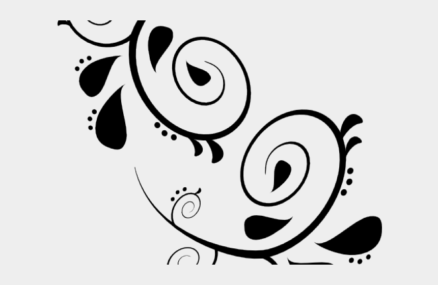 Download Floral Scroll Png - Green Scroll Clipart - Full Size PNG Image -  PNGkit