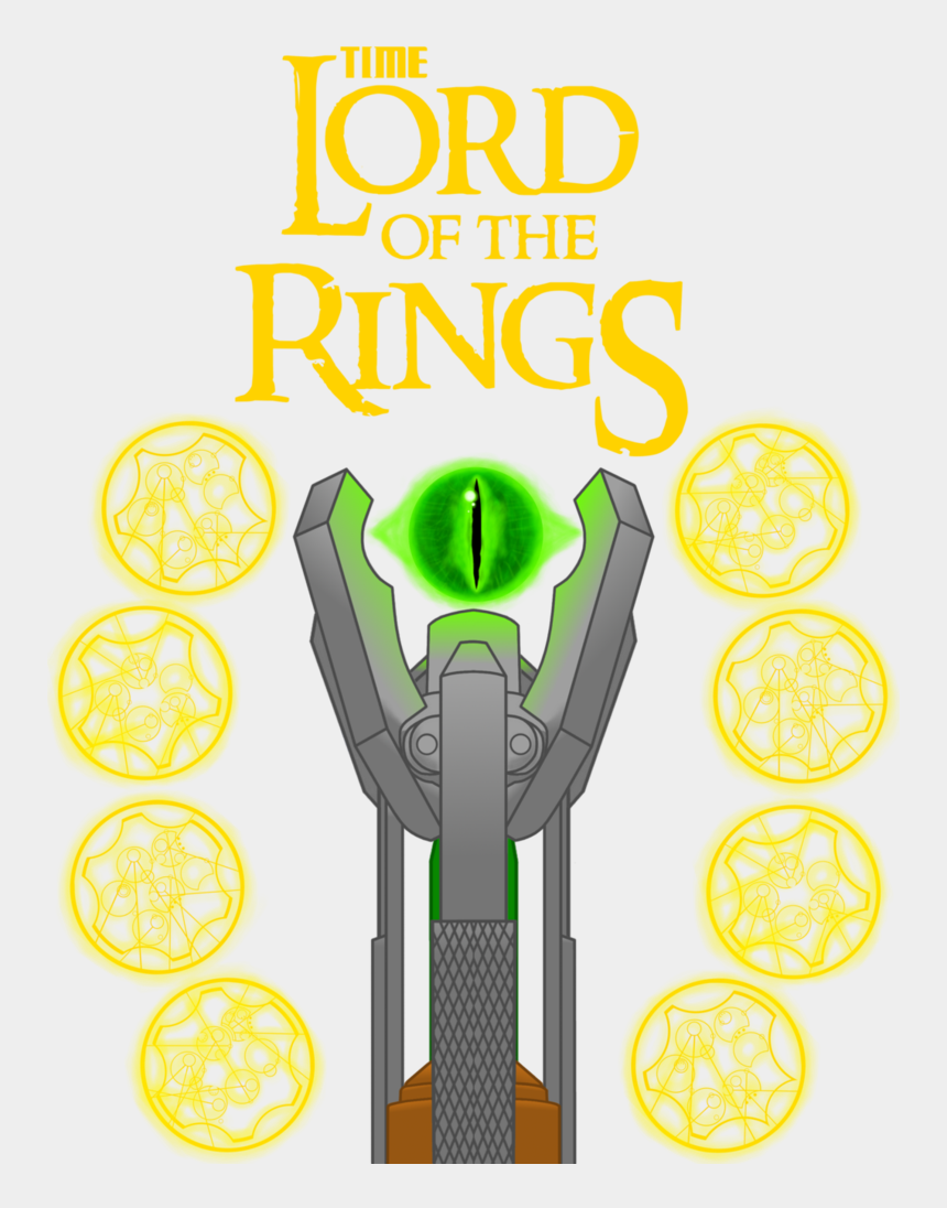 cross and rings clipart, Cartoons - Time Lord Of The Rings By Vinyl-brony95 - Lord Of The Rings