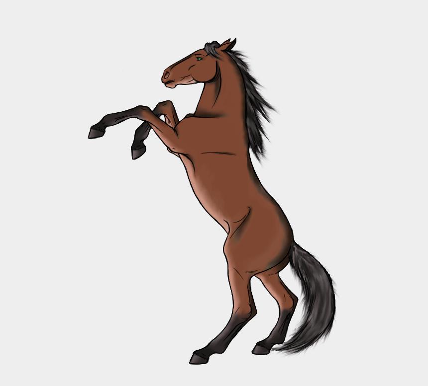 et clipart, Cartoons - Rearing Da Horse By Et-hem - Rearing Horse Transparent