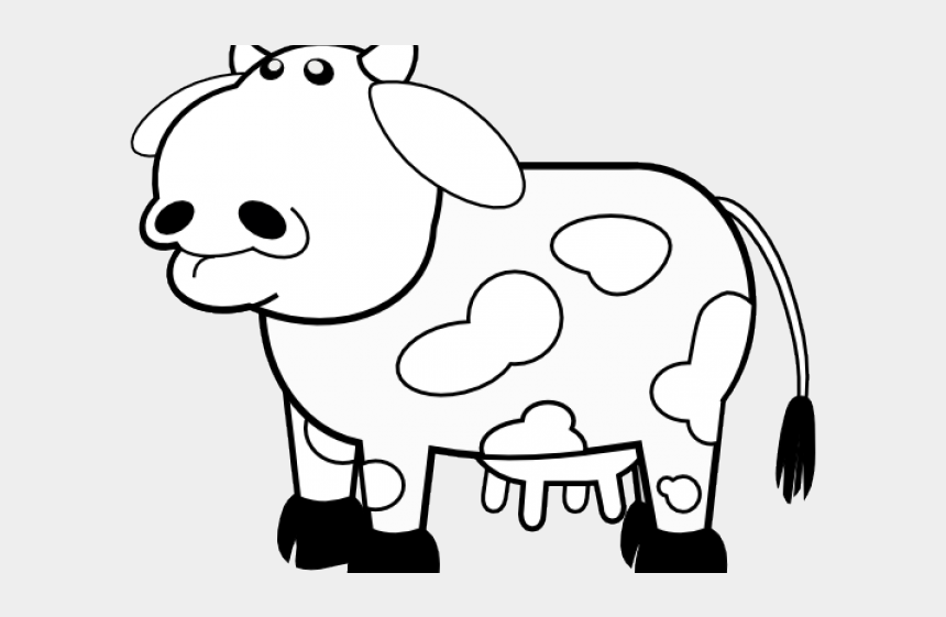cattle clipart black and white, Cartoons - Cattle Clipart Lembu - Cow Clip Art