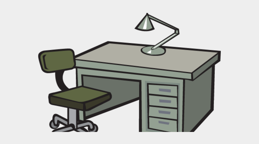 office chair clipart, Cartoons - Transparent Office Furniture Clipart