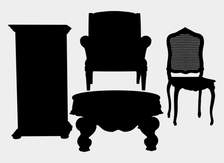 office chair clipart, Cartoons - Furniture Silhouette - Office Chair - Furniture