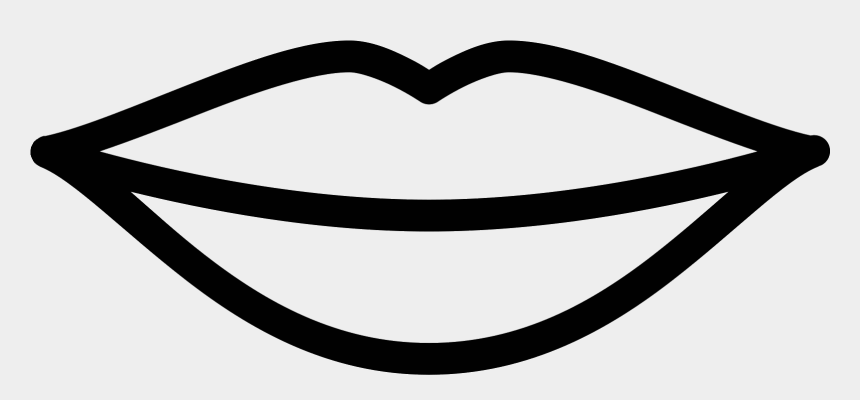 Lip Clipart Black And White Transpa Free Black And White Image Of Lip Cliparts Cartoons Jing Fm