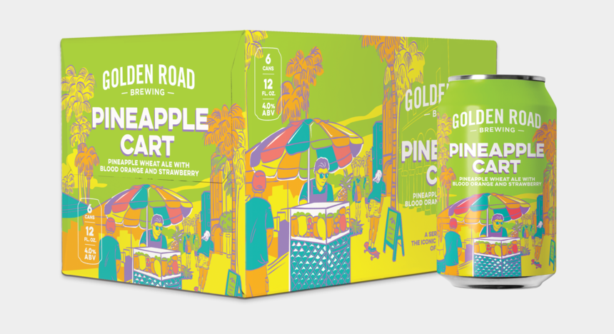 video clips of mapona volume 1, Cartoons - Third In A Series Inspired By The Iconic Fruit Cart - Golden Road Pineapple Cart