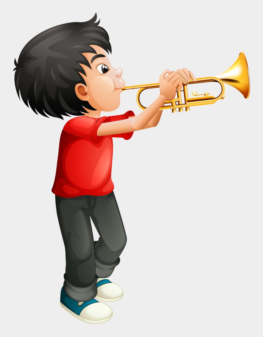 music net clips com, Cartoons - Image Du Blog Zezete2 - Boy Playing The Trumpet