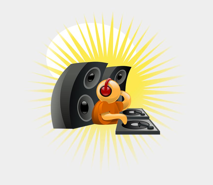 tubidy clip dj, Cartoons - Deejay, Music, Audio, Entertainment - Dj Sound Clip Art