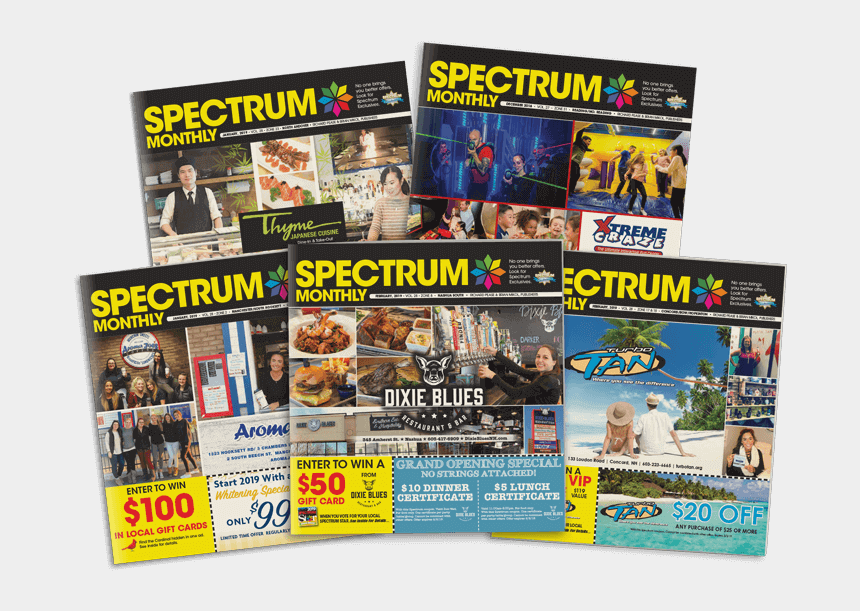 great clips coupon valpak, Cartoons - Spectrum Monthly Publications 5 Covers Array Of Coupon - Magazine