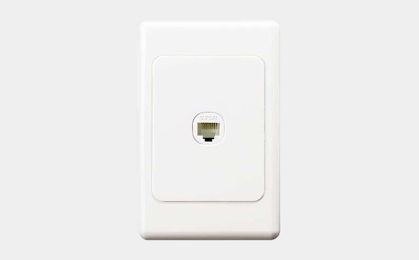 clipsal timer switch instructions, Cartoons - Clipsal 30rj45sma5 Modular Socket, Category 5e, Rj45, - Iphone Xr Smart Battery Case White Png