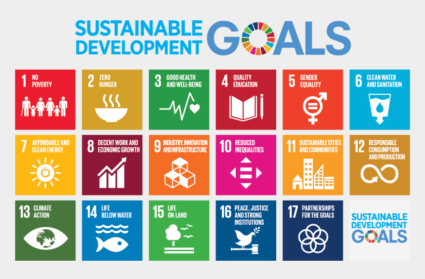 collection of news clippings about share market aims and objective, Cartoons - Executive Summary - Sustainable Development Goals 2030