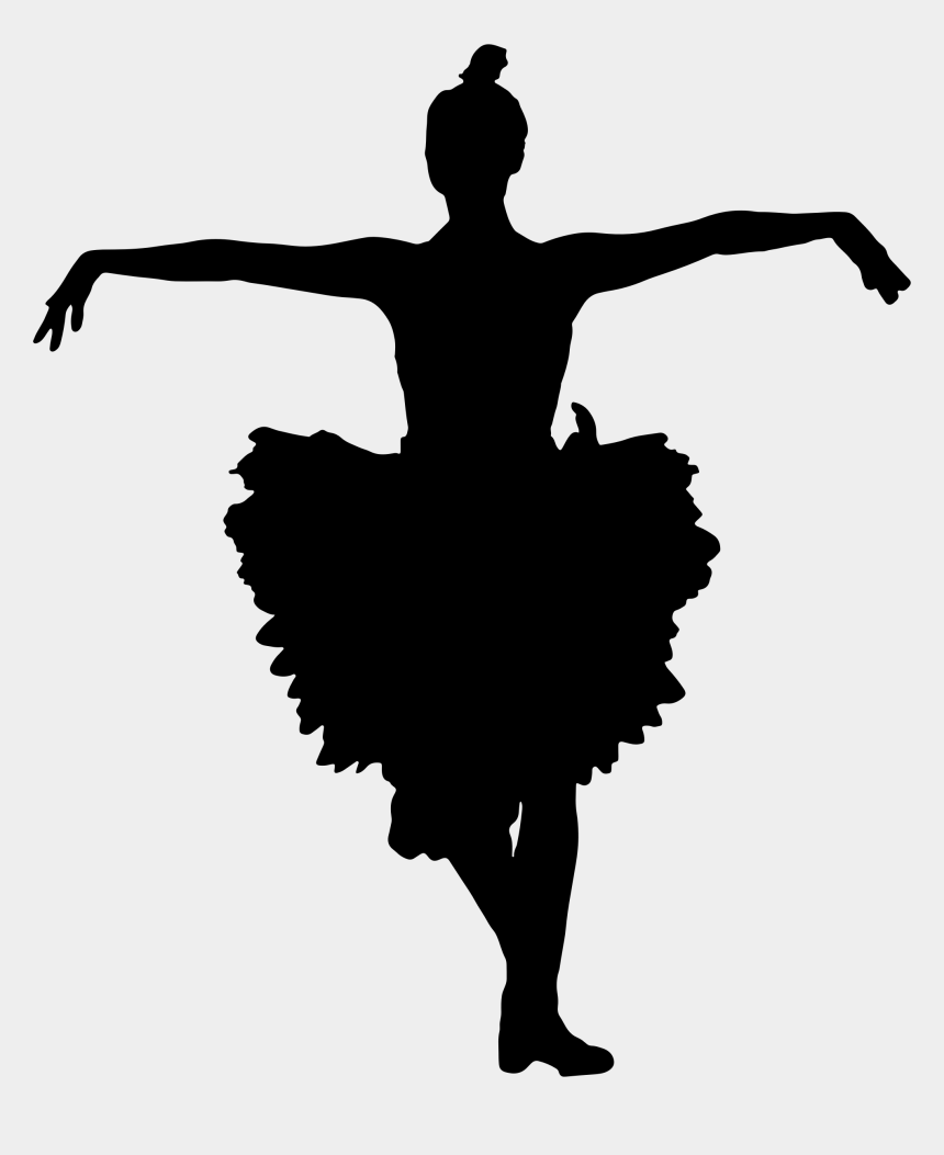 Ballerina Skirt Clipart Png Ballet Dancer Silhouette Large Cliparts Cartoons Jing Fm