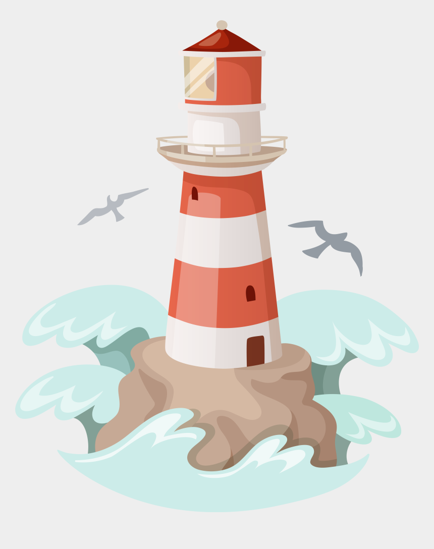 Transparent Background Lighthouse Png Cliparts Cartoons