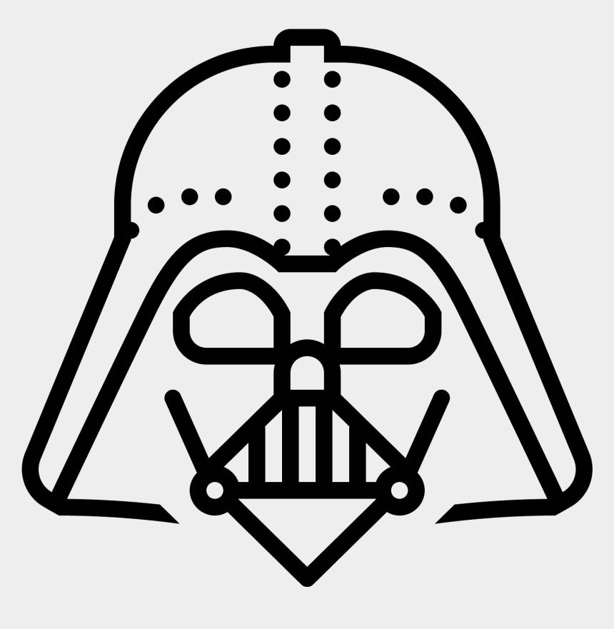 darth vader clipart, Cartoons - Darth Vader Clip Art Black And White - Darth Vader